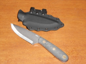 Custom kydex sheath with tek lok for this beautiful BHK