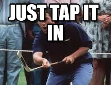 Just Tap it in