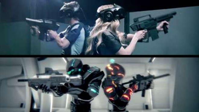 The opposite of virtual reality…
